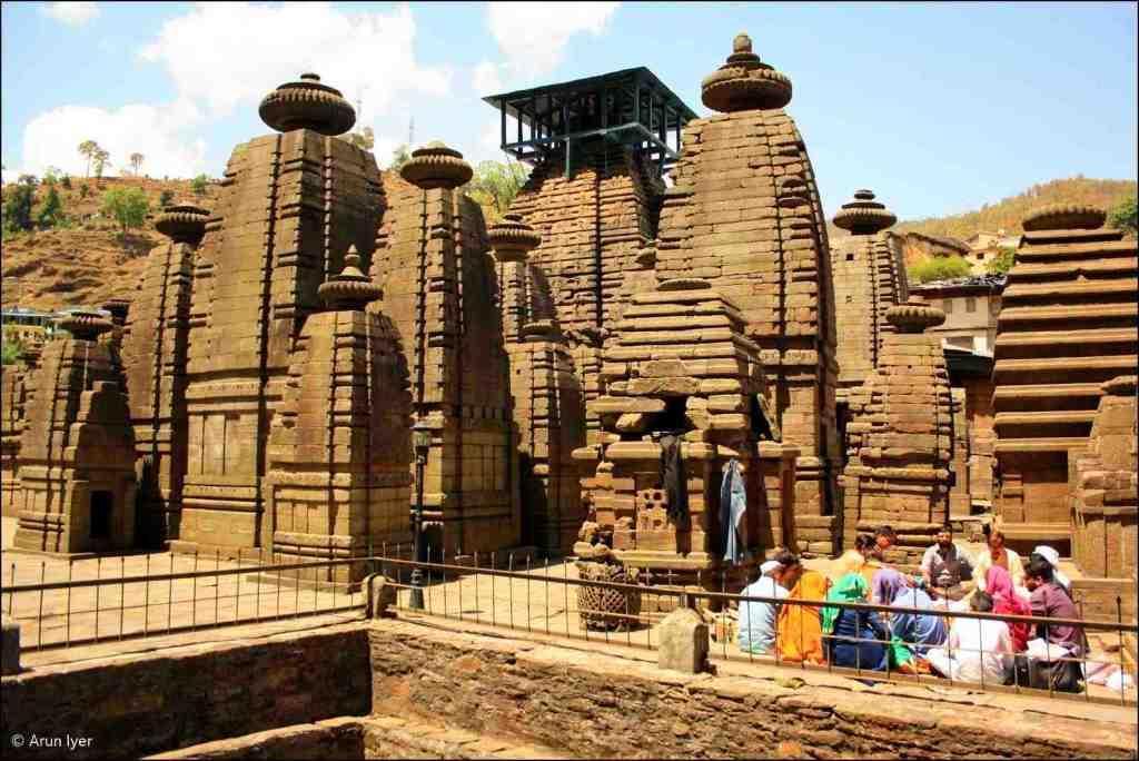Jageshwar temple complex Kumaon