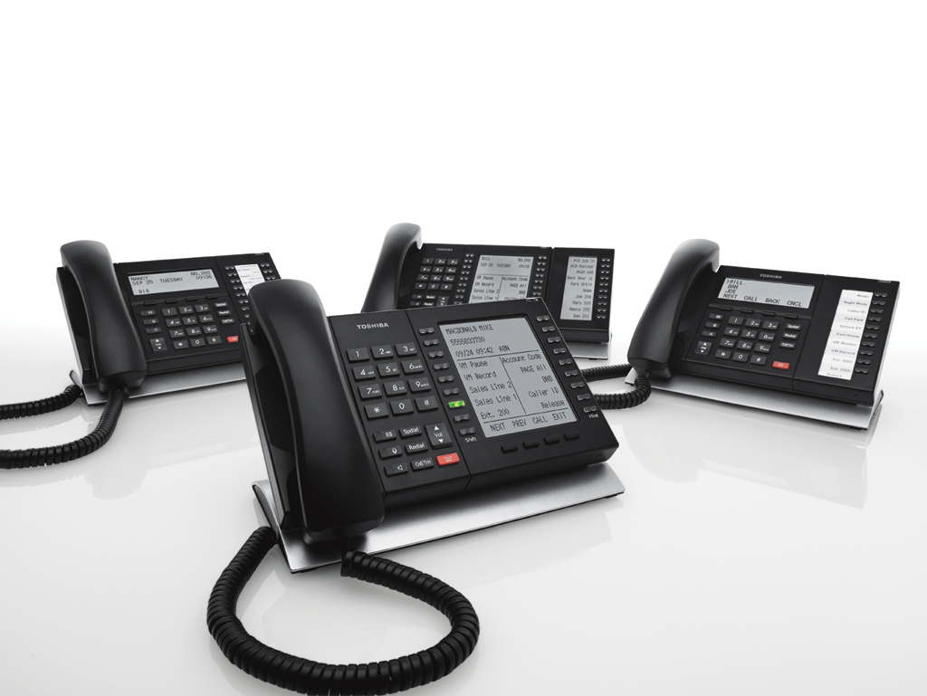 Toshiba Phone System DP5000 Installation by ICS Deer Park NY