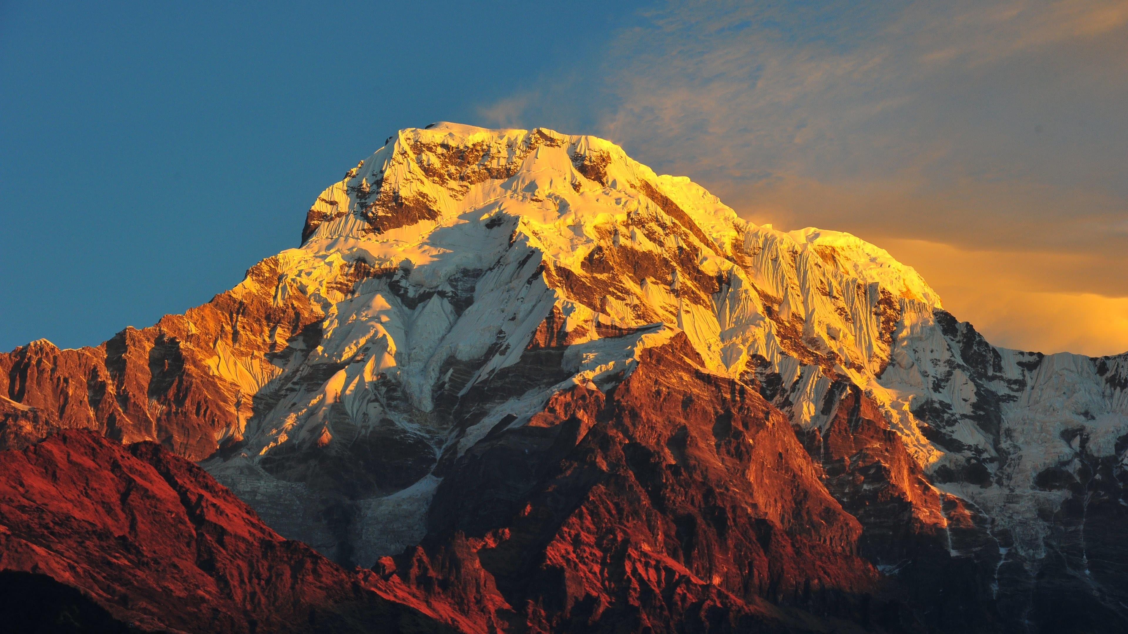 annapurna massif himalayas nepal