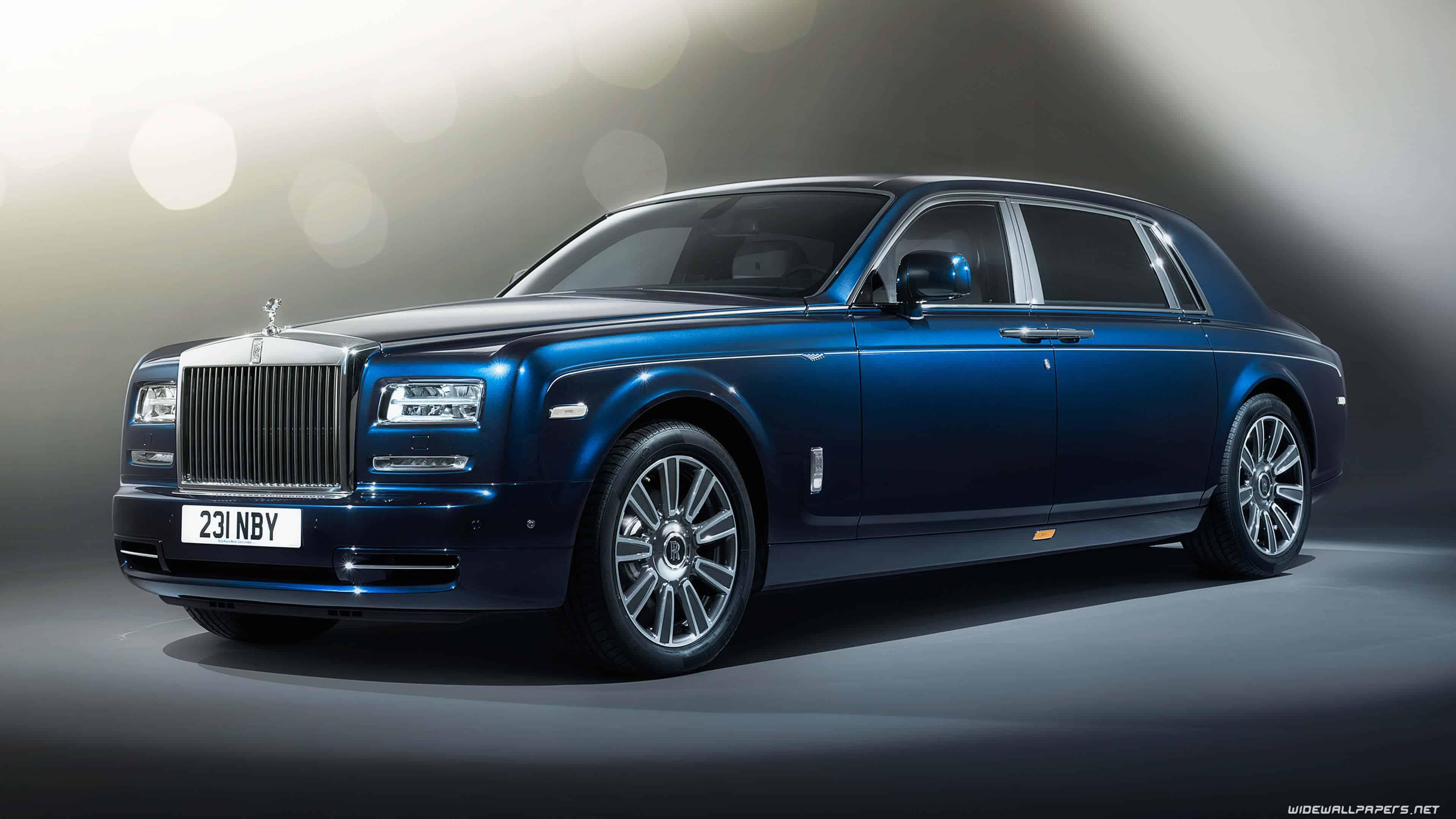 Blue 2017 Rolls Royce Phantom Uhd 4k Wallpaper Pixelz