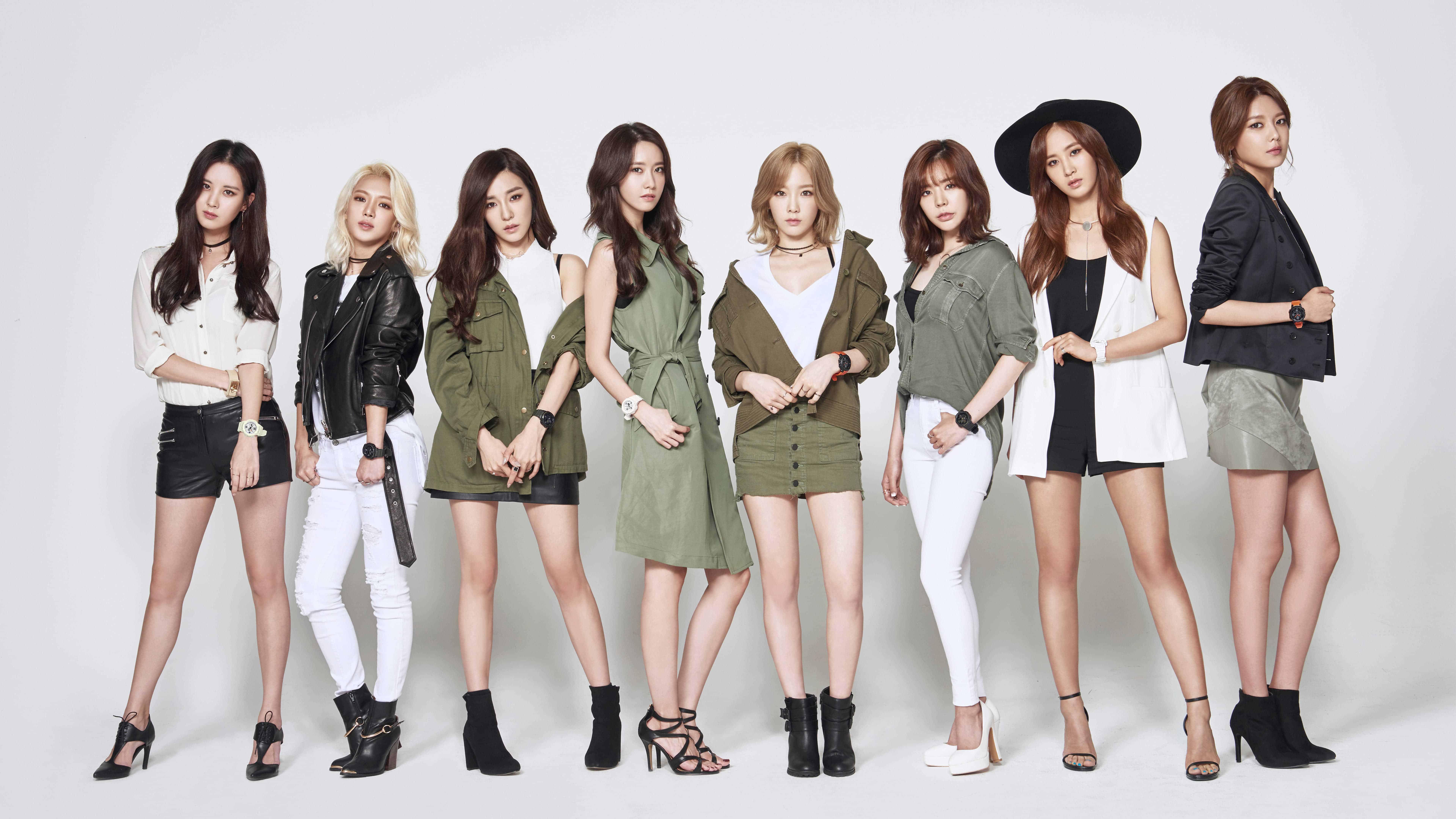 Girls Generation Wallpaper 2017 Ot9 Girls Generation Members Casio Photoshoot Uhd 8k Wallpaper