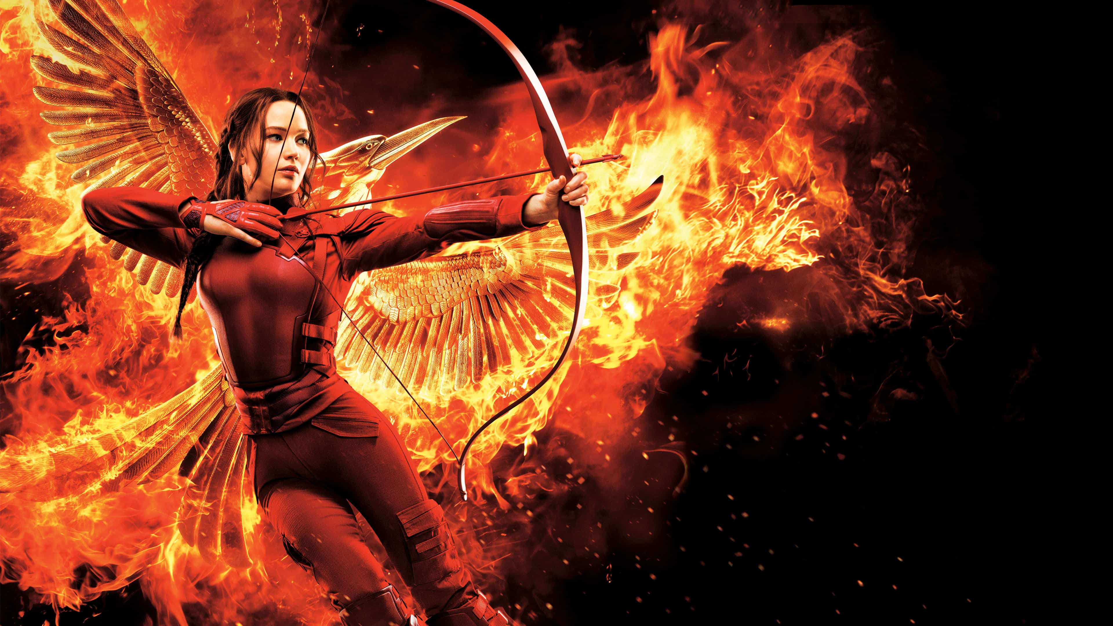 Fall Desktop Wallpaper Hunger Games Mockingjay Part 2 Uhd 4k Wallpaper Pixelz
