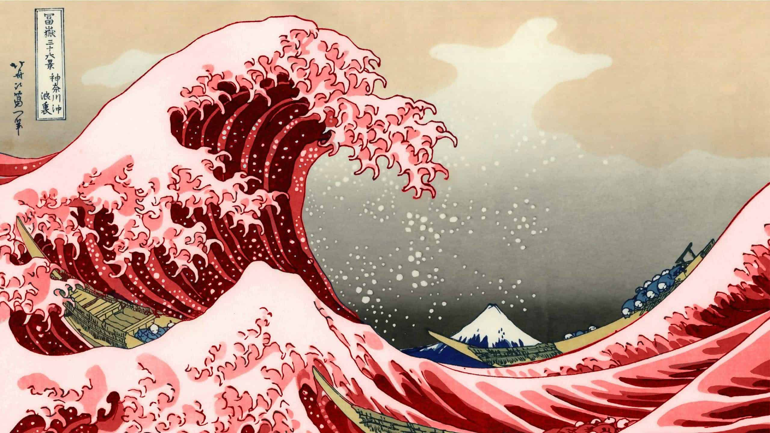 Cars And Bikes Wallpaper For Mobile The Great Wave Off Kanagawa Wqhd 1440p Wallpaper Pixelz