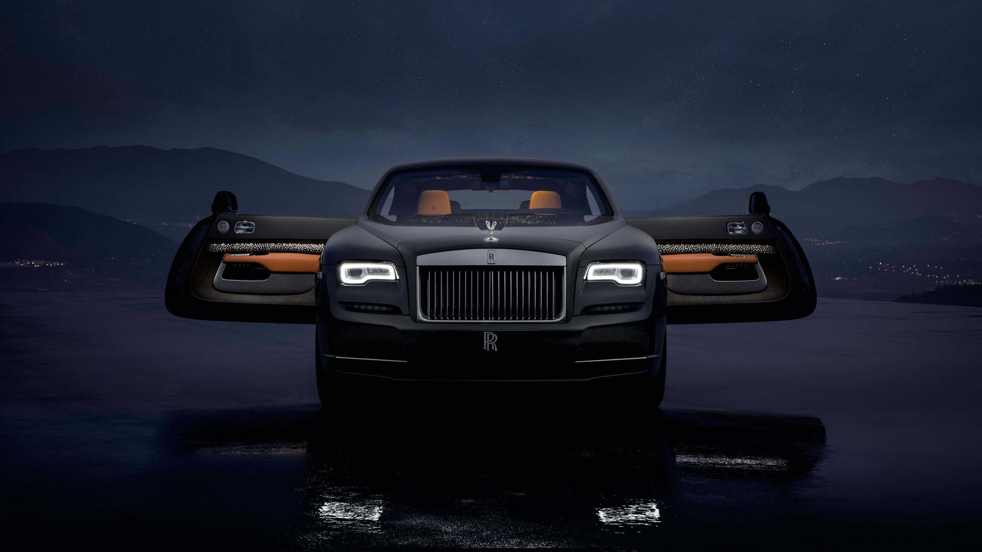 Rolls Royce Wraith Luminary Collection Uhd 4k Wallpaper Pixelz