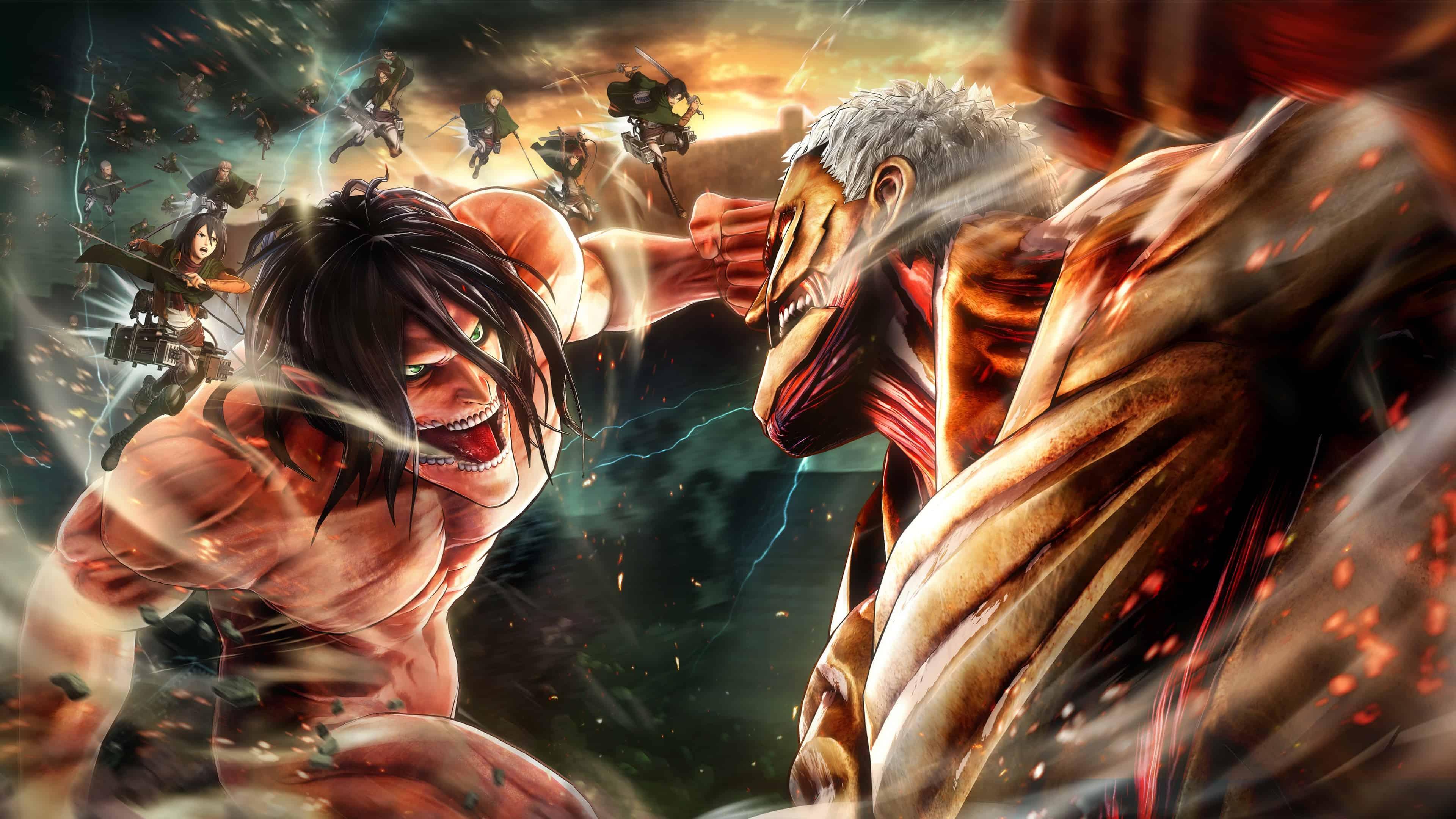 Attack On Titan Wallpaper 4k Pc 1920x1080 Attack On Titan