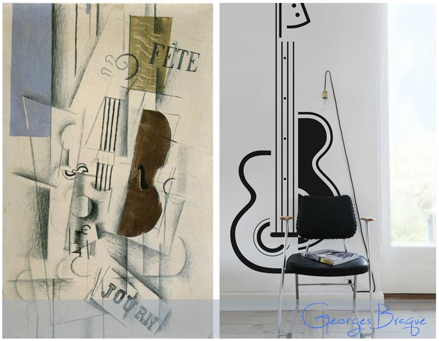 Georges Braque Naklejka - PIXERS