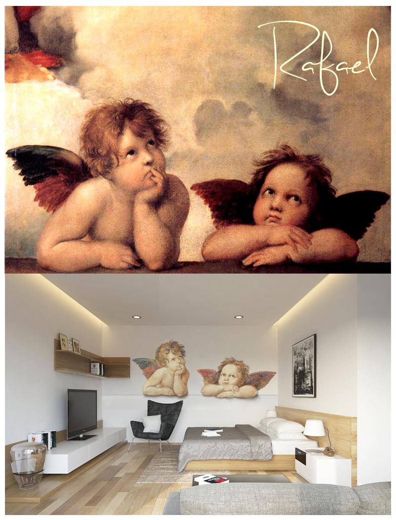 Anioły, Fototapeta PIXERS - inspirowana Rafaelem