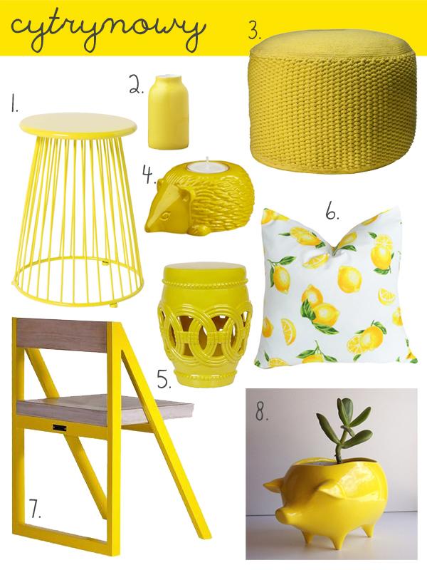 Lemon Set Home Decor by PIXERS
