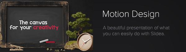 Slidea - Motion Design Template