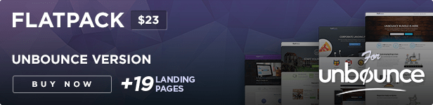 FLATPACK – Landing Pages Pack With Page Builder - 36