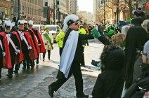 Déflié de la St Patrick - La tape de mains , le high five