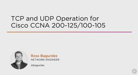 TCP and UDP Operation for Cisco CCNA 200-125/100-105