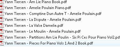 Yann Tiersen Sheet Music For Piano / AvaxHome