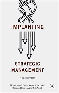 Implanting Strategic Management / AvaxHome