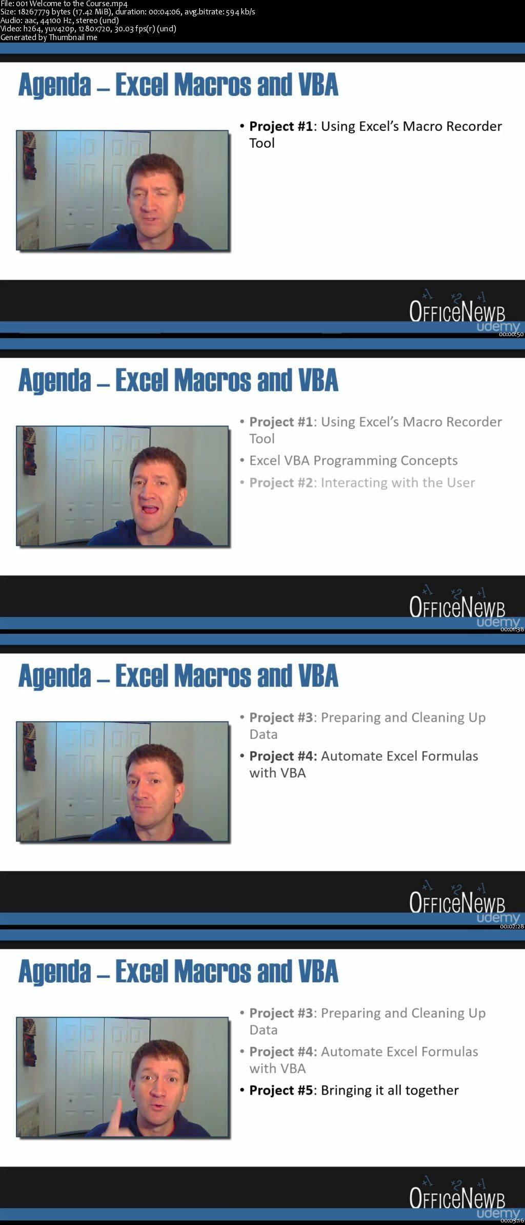 Master Microsoft Excel Macros And Excel Vba Avaxhome