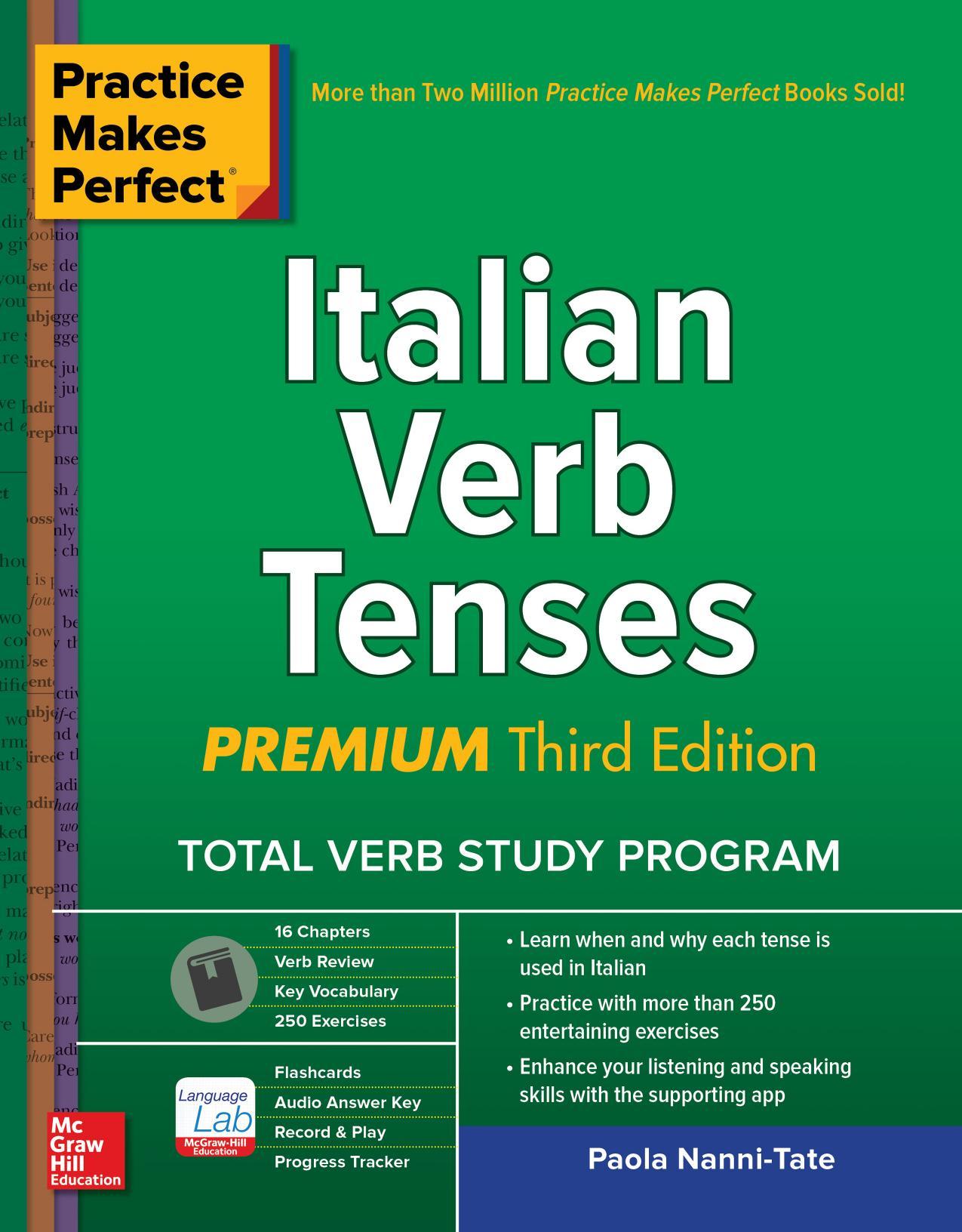 Practice Makes Perfect Italian Verb Tenses Premium 3rd