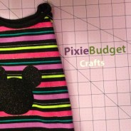 DIY Mickey Shirt – No Sew – with VIDEO!