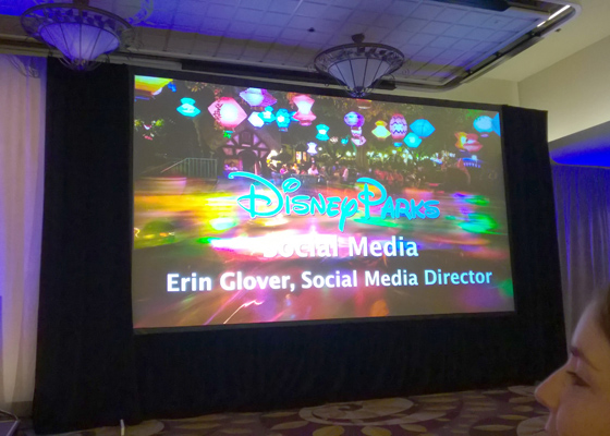 Erin Glover Disney Social Media Director