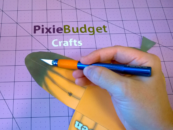 Pixie Budget Halloween Pumpkin Box Printable