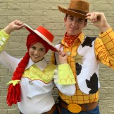 Toy Cowgirl & Cowboy