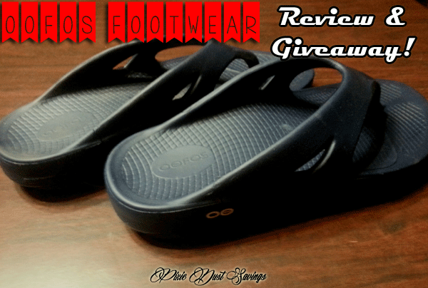 OOFOS Footwear Review + Giveaway!