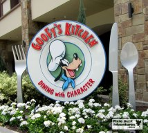Disneyland Goofy Kitchen Characters