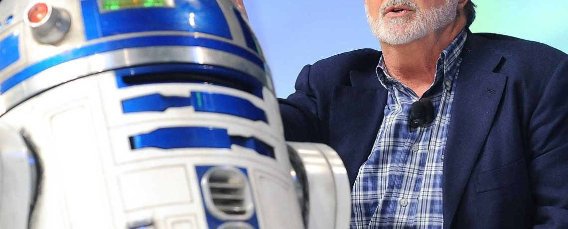George Lucas just compared seeing 'The Force Awakens' to attending an 'awkward' wedding
