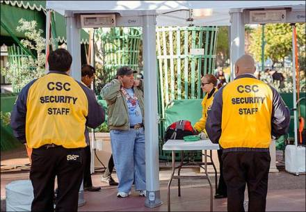 theme park security
