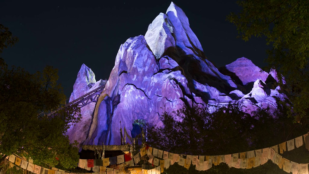 Disney Everest at Night