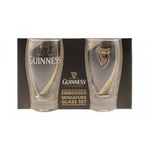 Guinness Gravity Mini Pint Glass 2pk