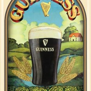 Guinness Taste of Ireland Metal Sign