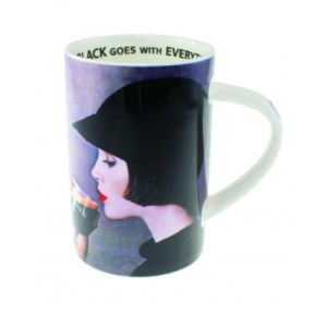 Guinness Girl China Mug