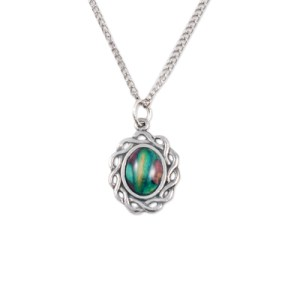 Celtic Oval Pewter