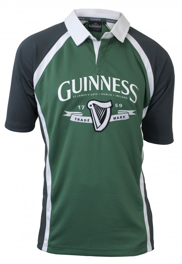 314632cd GUINNESS Ireland Rugby Jersey - Pixie Treasures Celtic Shoppe