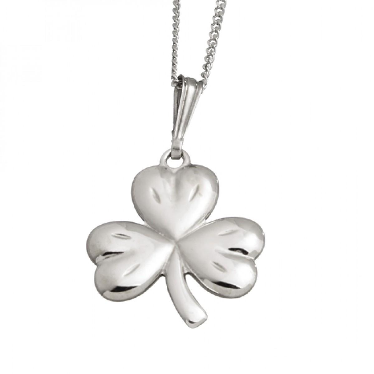 Small shamrock pendant pixie treasures celtic shoppe small shamrock pendant audiocablefo