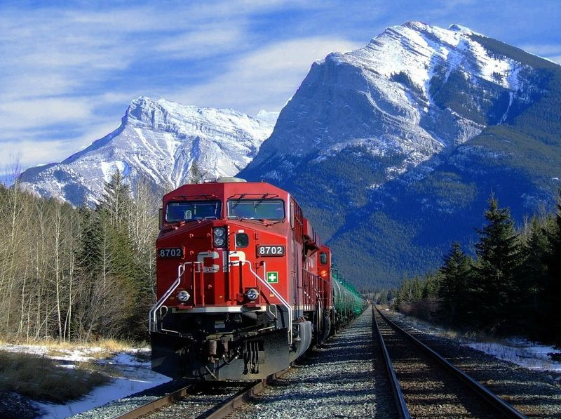 The Most Beautiful Pictures Of Canadian Railway  Others