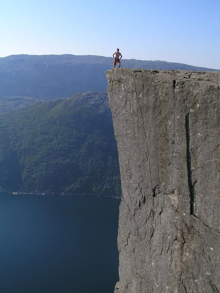 Incredible Cliff of Preikestolen  Others