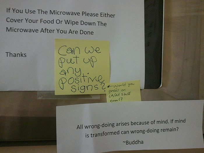 Funny Responses To Passive Aggressive Notes  Fun