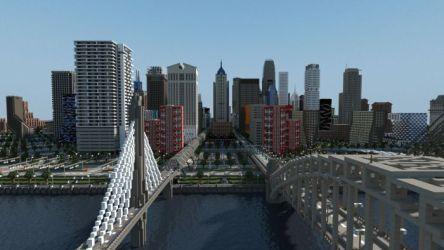 Minecraft City 8