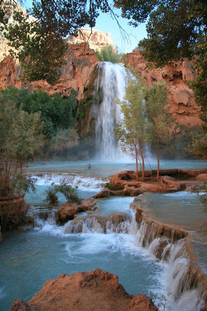 Amazing Falls Wallpaper Havasu Falls Others