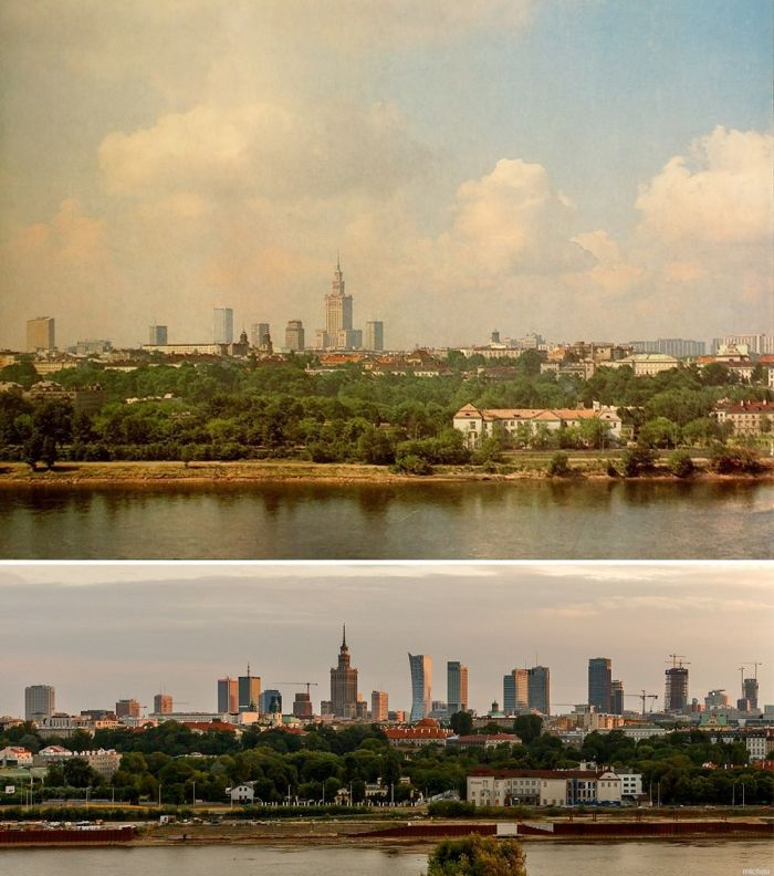 Famous Cities From Around The World Back In The Day And Today  Others