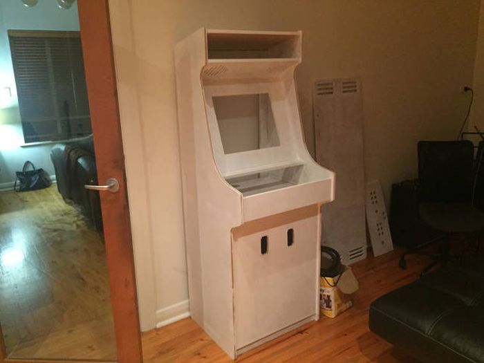 How To Build Your Own Arcade Game Cabinet  Others