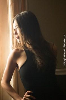 First shots of model Lisa