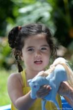 loves her horses!
