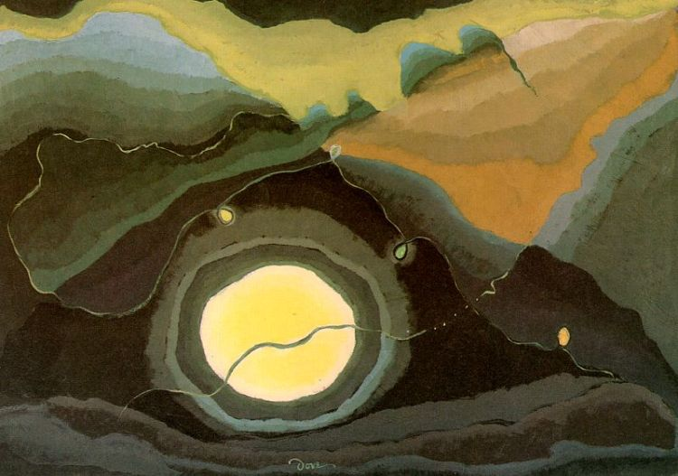 Me and the Moon, Arthur Dove