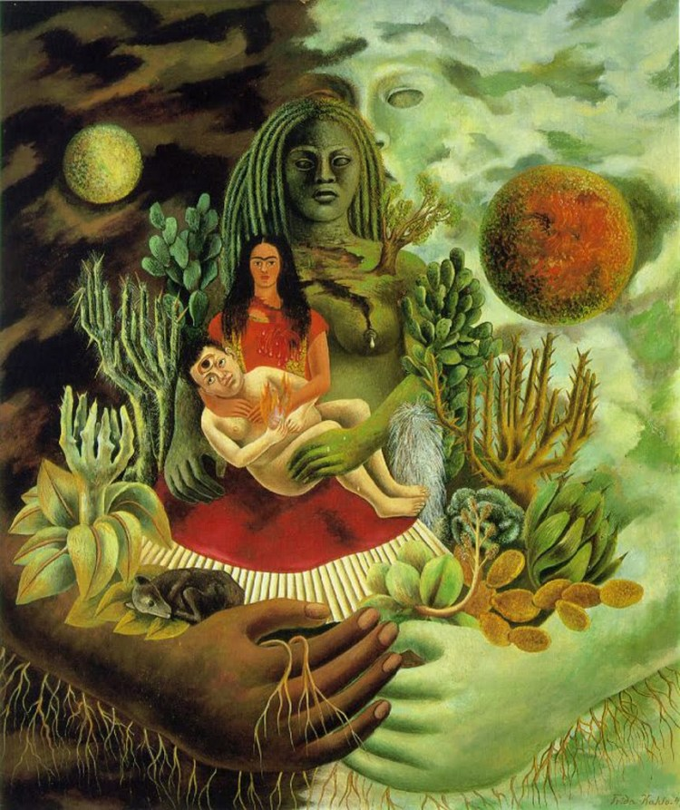 Loving Embrace of the Universe, Frida Kahlo