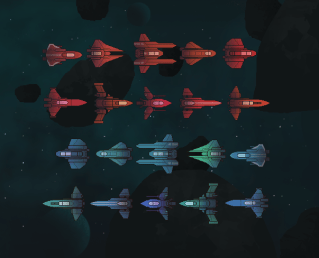 Player Ships Preview