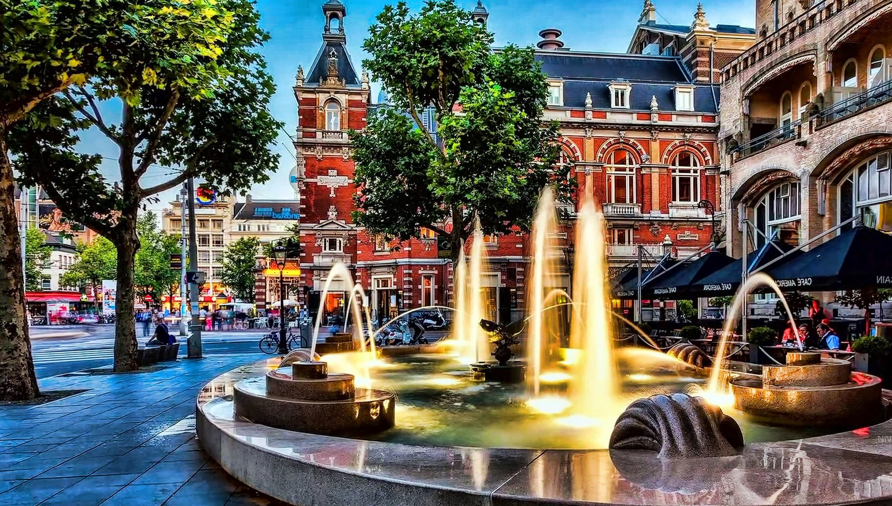 Foto gratis fontana centro citt architettura paesaggio urbano via citt