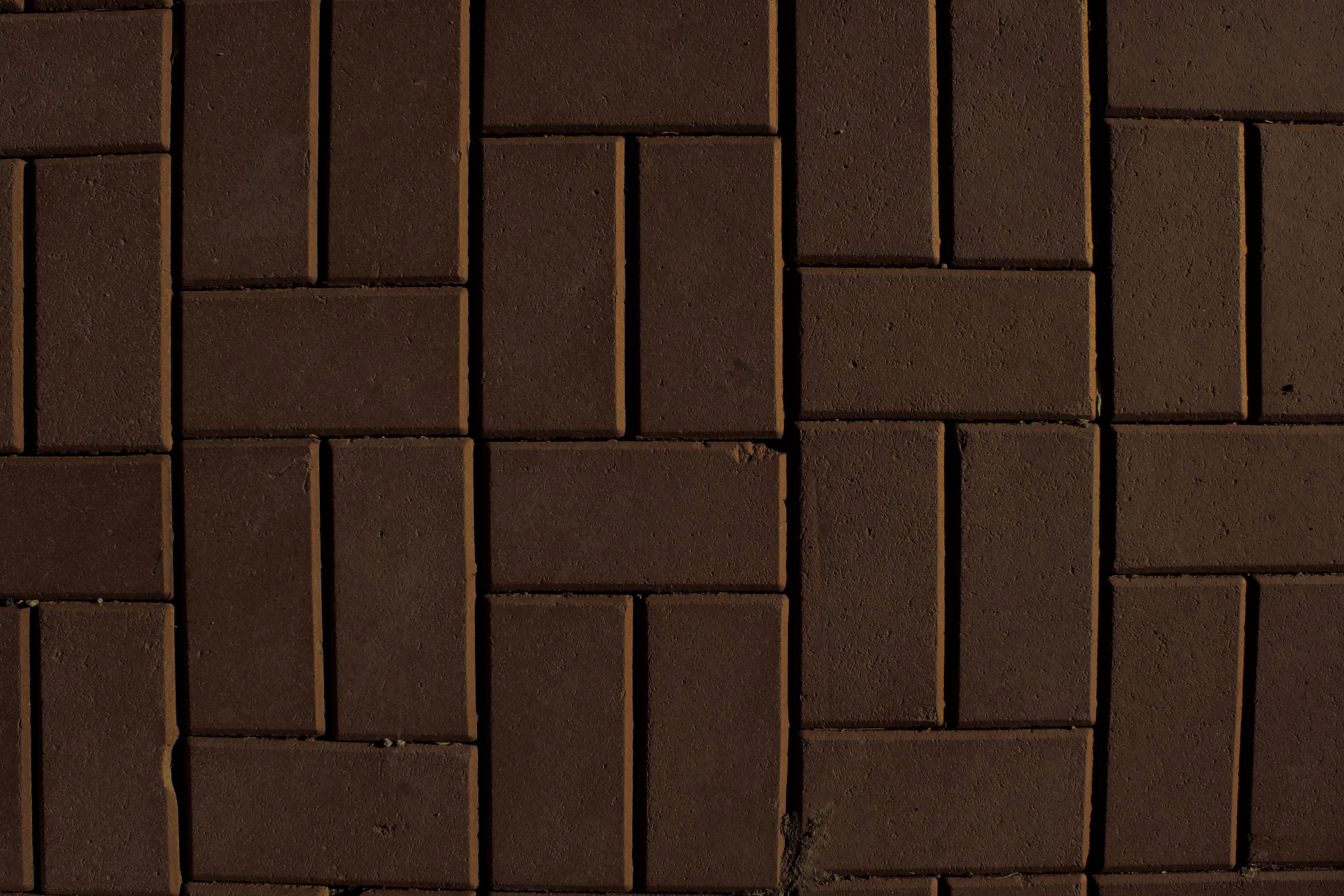 Imagen gratis marrn pared de ladrillos adoquines
