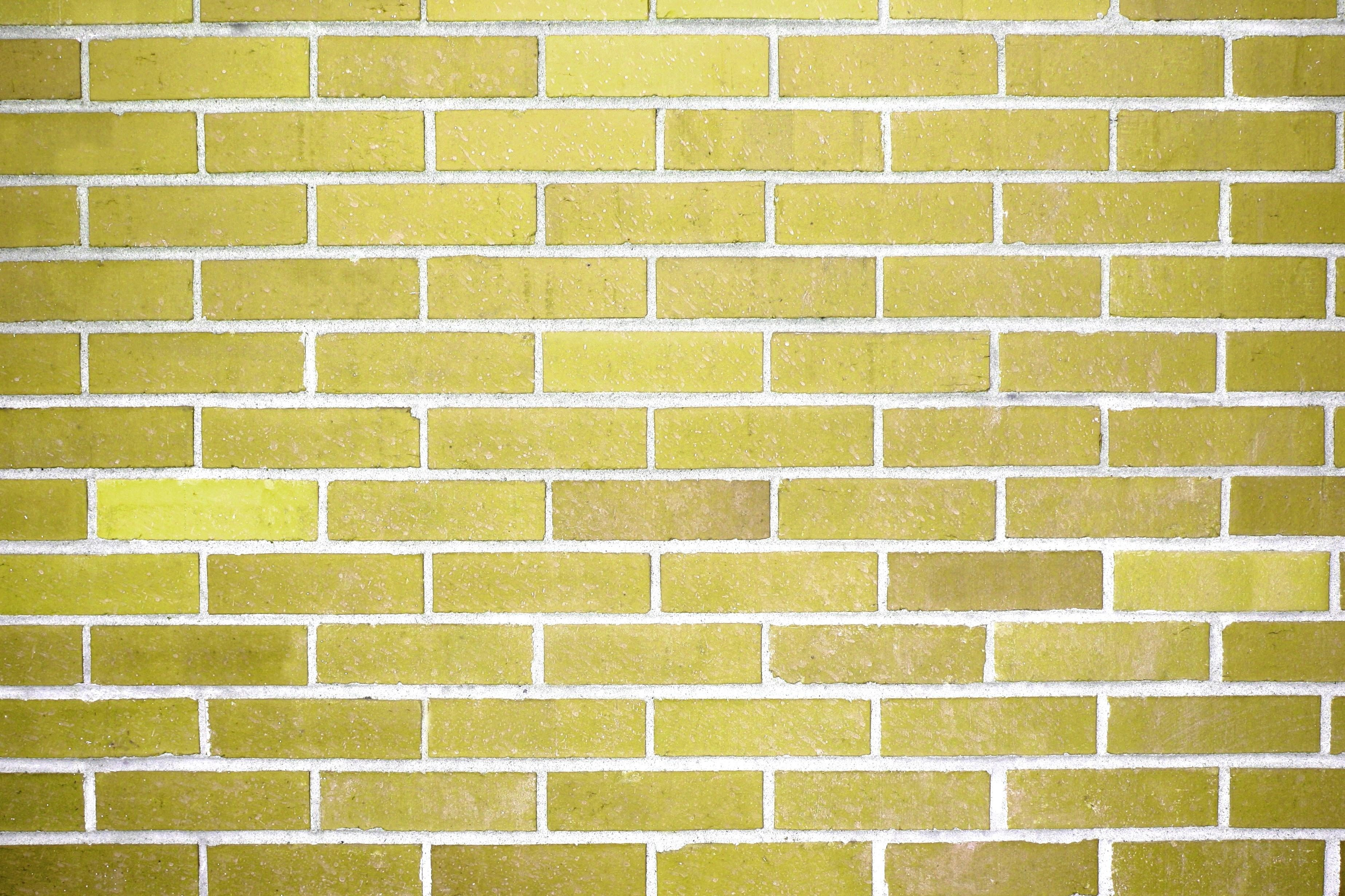 Free picture gold brick wall texture